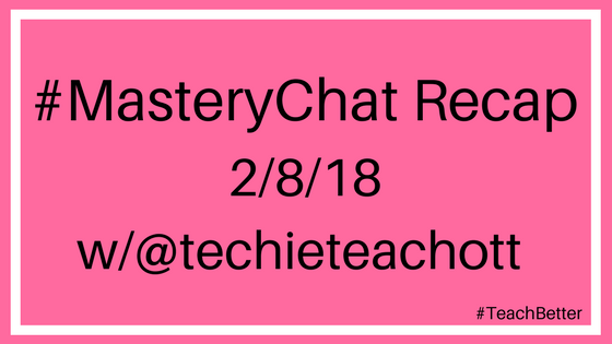 #masterychat recap for February 8th 2018