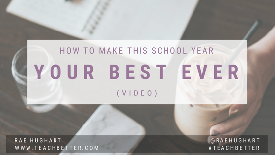 How to make this school year your best ever - video