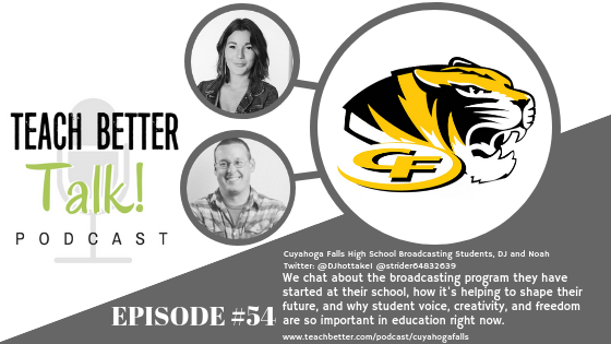 Listen to episode 54 of the teach better talk podcast.
