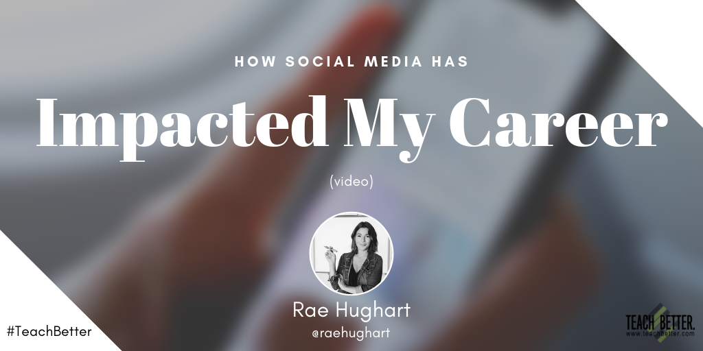HOW SOCIAL MEDIA HAS IMPACTED MY CAREER