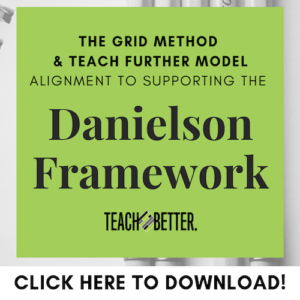 Danielson Framework Alignment Guide Click to Download
